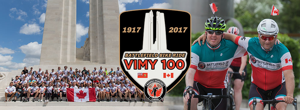 best sneakers a8c7c 6e5e0 2017 Wounded Warriors Canada Battlefield Bike Ride