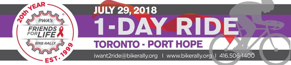 Bike Rally 20th Anniversary 1-Day Ride