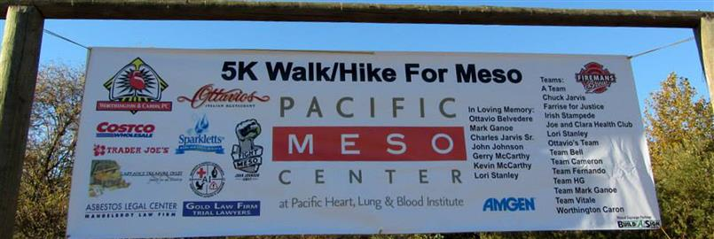 The 5k Walk For Mesothelioma 2018